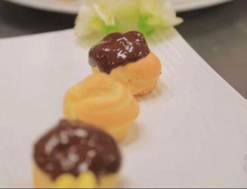 CAROLINAS COM GANACHE DE CHOCOLATE