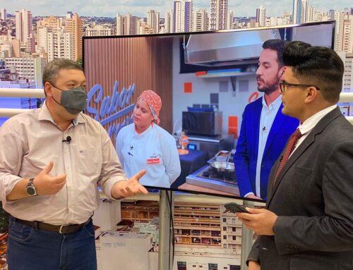 Sabor à Prova aproximou o público ao mostra o dia a dia da profissão de cozinheiro, segundo diretor do Senac MS